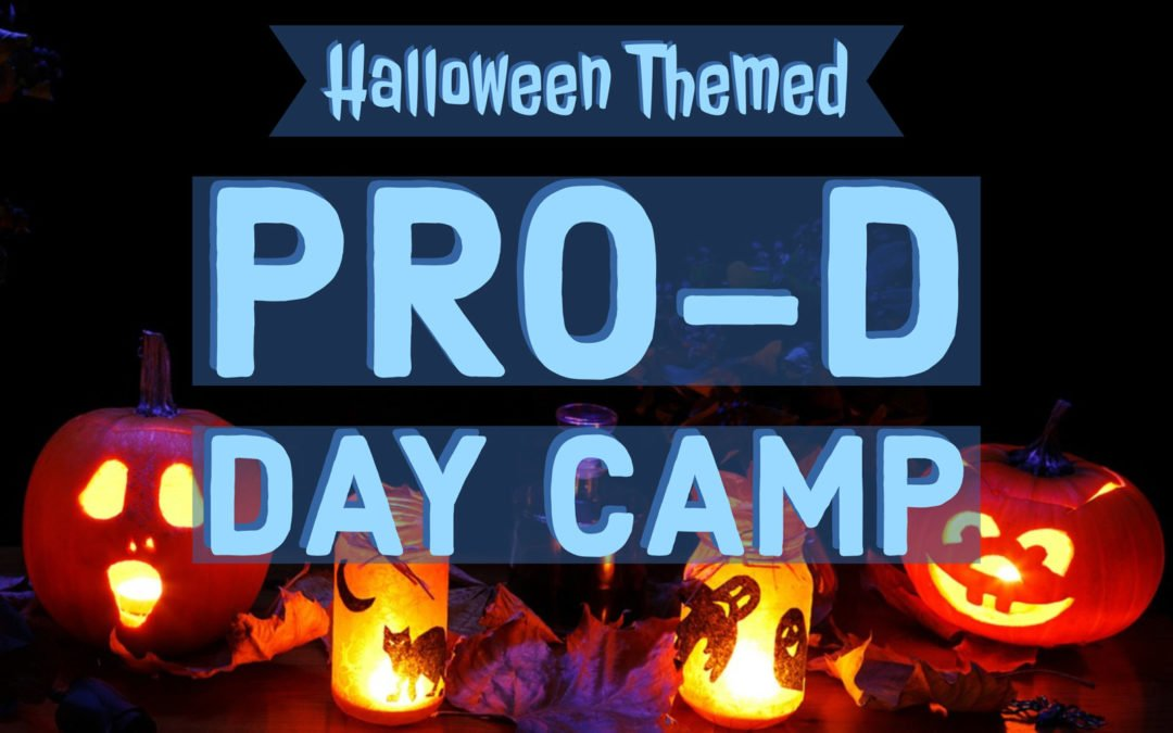 Halloween Themed Pro-D Day Camp
